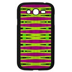 Bright Green Pink Geometric Samsung Galaxy Grand DUOS I9082 Case (Black)