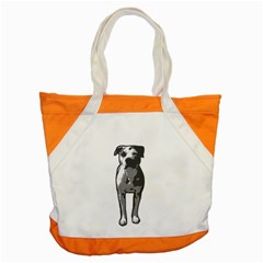 Pit Bull T Bone Graphic  Accent Tote Bag by ButThePitBull
