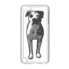 Pit Bull T Bone Graphic  Apple iPod Touch 5 Case (White) by ButThePitBull