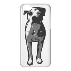 Pit Bull T Bone Graphic  Apple Iphone 5c Hardshell Case by ButThePitBull