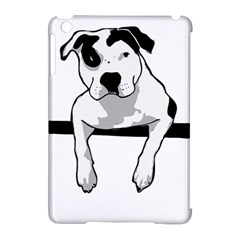 Pit Bull T Bone Graphic  Apple Ipad Mini Hardshell Case (compatible With Smart Cover) by ButThePitBull