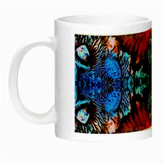 Colorful  Underwater Plants Pattern Night Luminous Mugs by Costasonlineshop