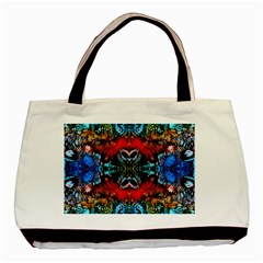Colorful  Underwater Plants Pattern Basic Tote Bag
