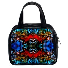 Colorful  Underwater Plants Pattern Classic Handbags (2 Sides)
