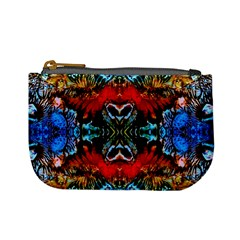 Colorful  Underwater Plants Pattern Mini Coin Purses by Costasonlineshop