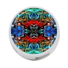 Colorful  Underwater Plants Pattern 4 Port Usb Hub (two Sides)  by Costasonlineshop