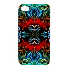 Colorful  Underwater Plants Pattern Apple Iphone 4/4s Hardshell Case by Costasonlineshop