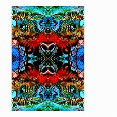 Colorful  Underwater Plants Pattern Small Garden Flag (two Sides) by Costasonlineshop