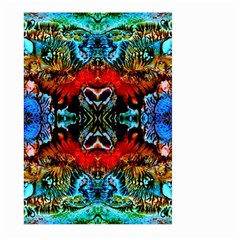 Colorful  Underwater Plants Pattern Large Garden Flag (two Sides) by Costasonlineshop