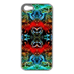 Colorful  Underwater Plants Pattern Apple Iphone 5 Case (silver)
