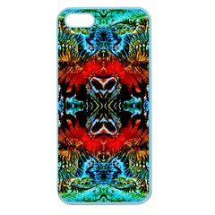 Colorful  Underwater Plants Pattern Apple Seamless Iphone 5 Case (color)