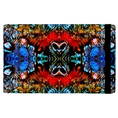 Colorful  Underwater Plants Pattern Apple Ipad 2 Flip Case by Costasonlineshop