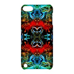 Colorful  Underwater Plants Pattern Apple Ipod Touch 5 Hardshell Case With Stand by Costasonlineshop