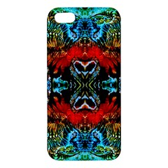 Colorful  Underwater Plants Pattern Iphone 5s/ Se Premium Hardshell Case by Costasonlineshop