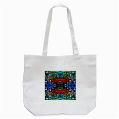 Colorful  Underwater Plants Pattern Tote Bag (white)