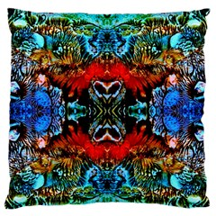 Colorful  Underwater Plants Pattern Standard Flano Cushion Case (one Side) by Costasonlineshop