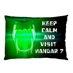 Keep Calm And Visit Hangar 7 Pillow Cases (two Sides) by RespawnLARPer