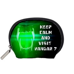 Keep Calm And Visit Hangar 7 Accessory Pouches (small)  by RespawnLARPer