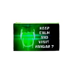 Keep Calm And Visit Hangar 7 Cosmetic Bag (xs) by RespawnLARPer