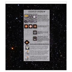Eclipse   Discovery Tiles By Richard Dewsbery   Drawstring Pouch (medium)   11zem3ugi7tv   Www Artscow Com Front