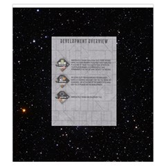 Elipse   Development Tiles By Richard Dewsbery   Drawstring Pouch (medium)   Wvlteqxzgs7d   Www Artscow Com Front