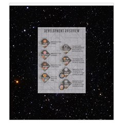 Elipse   Development Tiles By Richard Dewsbery   Drawstring Pouch (medium)   Wvlteqxzgs7d   Www Artscow Com Back