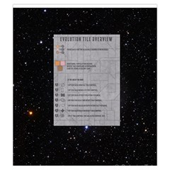 Eclipse   Evolution Tiles By Richard Dewsbery   Drawstring Pouch (medium)   20l6lin1u1tv   Www Artscow Com Front