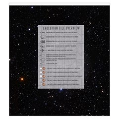 Eclipse   Evolution Tiles By Richard Dewsbery   Drawstring Pouch (medium)   20l6lin1u1tv   Www Artscow Com Back