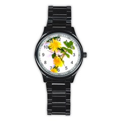 Margaritas Bighop Design Stainless Steel Round Watch by bighop