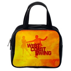 West Coast Swing Classic Handbags (one Side) by LetsDanceHaveFun