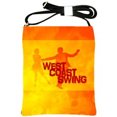 West Coast Swing Shoulder Sling Bags by LetsDanceHaveFun