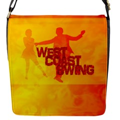 West Coast Swing Flap Messenger Bag (s)