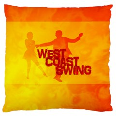 West Coast Swing Standard Flano Cushion Case (two Sides)