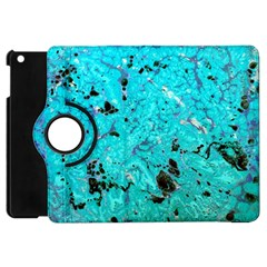 Aquamarine Collection Apple Ipad Mini Flip 360 Case by bighop