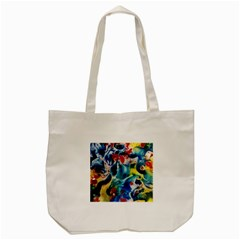 Colors Of The World Bighop Collection By Jandi Tote Bag (cream) by bighop