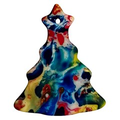 Colors Of The World Bighop Collection By Jandi Ornament (christmas Tree) by bighop