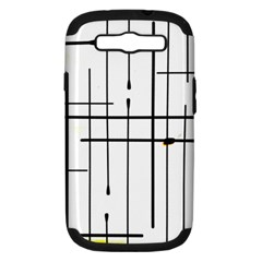 White Limits By Jandi Samsung Galaxy S III Hardshell Case (PC+Silicone) by bighop