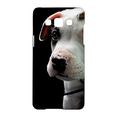 Pit Bull T Bone Puppy Samsung Galaxy A5 Hardshell Case  by ButThePitBull