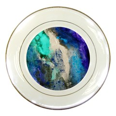 Violet Art Porcelain Plate by 20JA