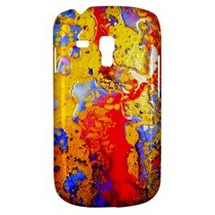 Gold And Red Samsung Galaxy S3 Mini I8190 Hardshell Case by 20JA
