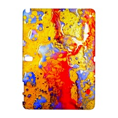 Gold And Red Samsung Galaxy Note 10 1 (p600) Hardshell Case