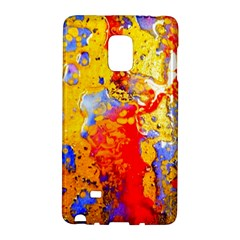 Gold And Red Galaxy Note Edge by 20JA