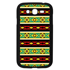Rhombus chains and other shapes 			Samsung Galaxy Grand DUOS I9082 Case (Black) by LalyLauraFLM