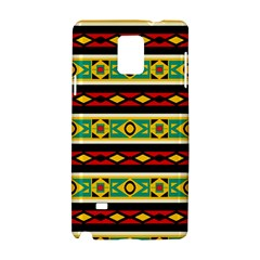 Rhombus Chains And Other Shapes 			samsung Galaxy Note 4 Hardshell Case by LalyLauraFLM