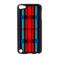 Stripes And Rectangles  			apple Ipod Touch 5 Case (black) by LalyLauraFLM