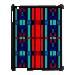 Stripes And Rectangles  apple Ipad 3/4 Case (black) by LalyLauraFLM
