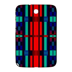 Stripes And Rectangles  samsung Galaxy Note 8 0 N5100 Hardshell Case by LalyLauraFLM