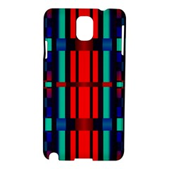 Stripes And Rectangles  			samsung Galaxy Note 3 N9005 Hardshell Case by LalyLauraFLM