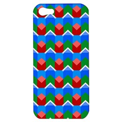 Shapes Rows apple Iphone 5 Hardshell Case by LalyLauraFLM