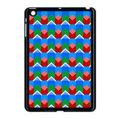 Shapes Rows 			apple Ipad Mini Case (black) by LalyLauraFLM